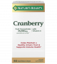 Nature's Bounty Triple Strength Cranberry with Vitamin C & E Softgels