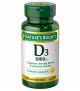 Nature's Bounty Vitamin D3-1000 IU Softgels