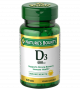 Nature's Bounty Vitamin D3-400 IU Tablets