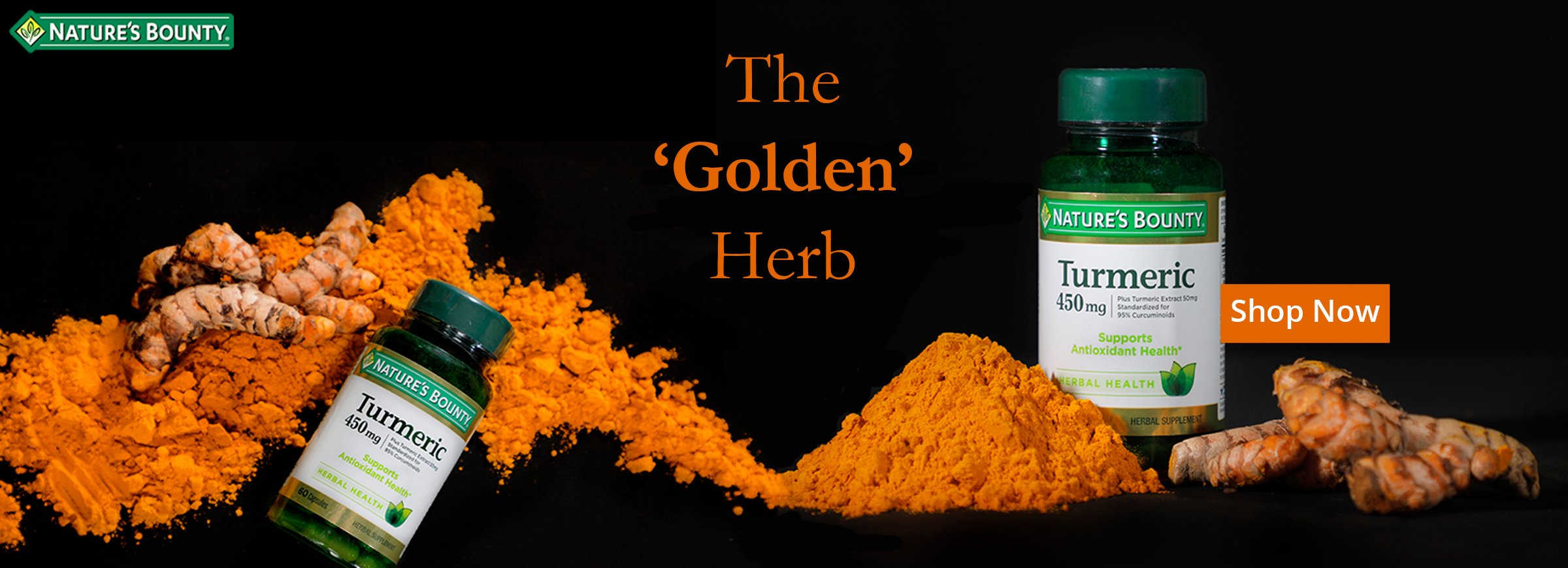 Turmeric, The golden herb